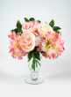 11in Peony, Dahlia, & Rose Bouquet