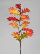 34in Fall Oak Leaf Spray With Acorns