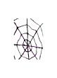 black halloween spider web decor RJ5K26583