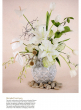 white lily orchid tulip easter spring floral arrangement