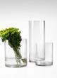 8x8-, 10x12-, & 8x20-inch Clear Glass Cylinders