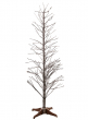 6ft Snowy Branch Christmas Tree With Warm White L.E.D. Light Tips