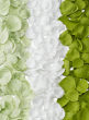 PALE GREEN, WHITE, & GREEN FOAM ROSE PETALS