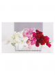 ombre lily rose modern valentine's day flowers