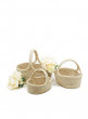 natural raffia fruit gift easter basket