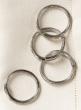 Nickel Cuff Napkin Ring, Set of 4