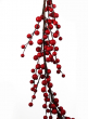55in Matte Red Berry Garland