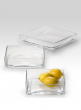Square Glass Trays