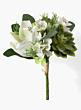 echeveria succulent magnolia flower silk flower arrangement