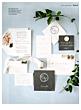 wedding invitation suite brides the knot