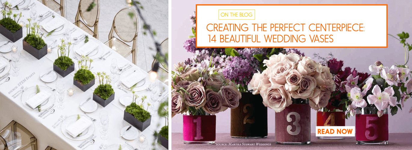 wedding vases for perfect centerpieces floral inspo